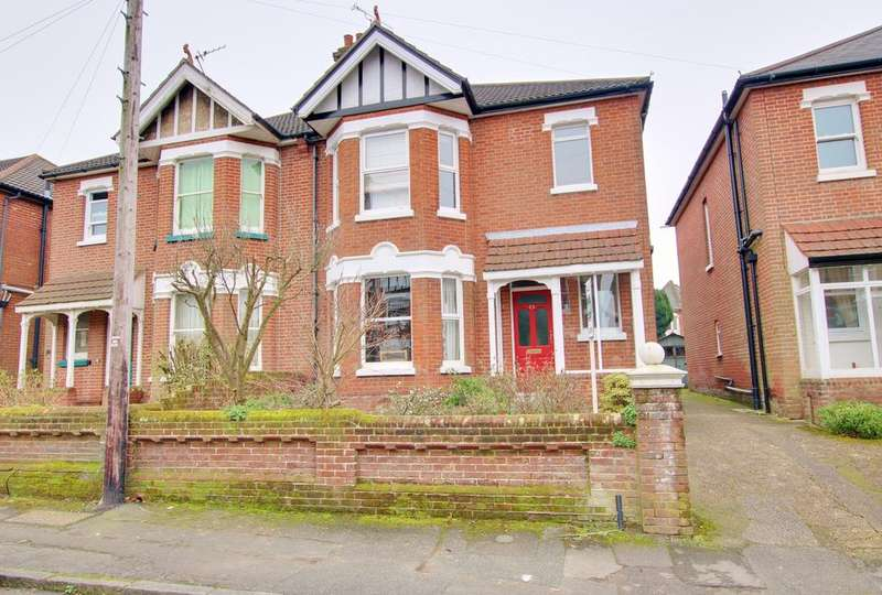 4 Bedrooms Semi Detached House for sale in Upper Shirley, Southampton