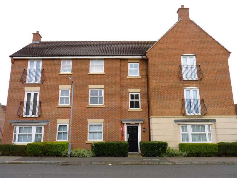2 Bedrooms Apartment Flat for sale in Flowerhill Drive, Wellingborough, NN8 4GF