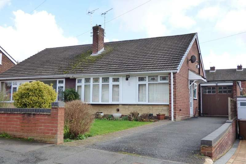 2 Bedrooms Semi Detached Bungalow for sale in Bosworth Drive, Burton-on-Trent