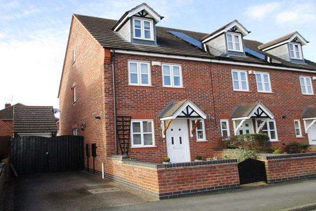 3 Bedrooms End Of Terrace House for sale in Mill Lane, Newbold Verdon, Leicester, LE9