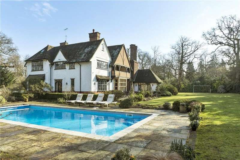 7 Bedrooms Detached House for sale in Abbotswood, Guildford, Surrey, GU1