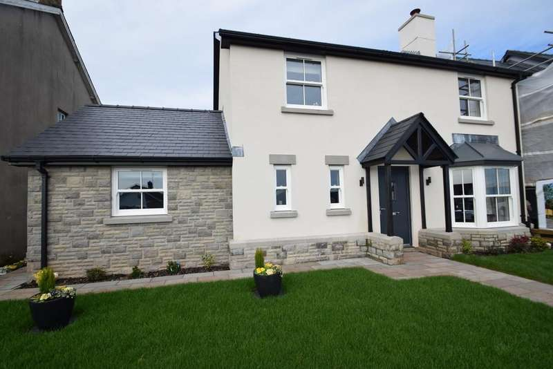 4 Bedrooms Detached House for sale in No.1 The Paddocks, Heol Yr Ysgol, Coity, Bridgend, CF35 6BL