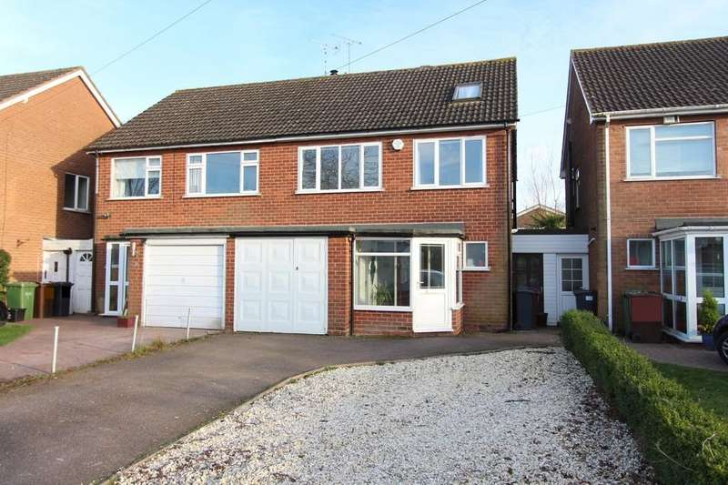 4 Bedrooms Semi Detached House for sale in Aylesbury Road, Hockley Heath