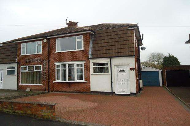 3 Bedrooms Semi Detached House for sale in Parklands Avenue, Groby, Leicester, LE6