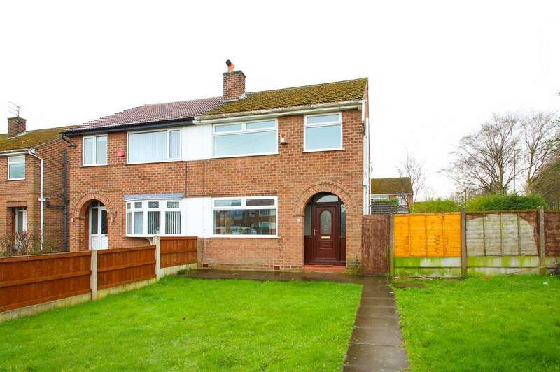 3 Bedrooms Semi Detached House for sale in Hankinson Close, Partington, Manchester, M31