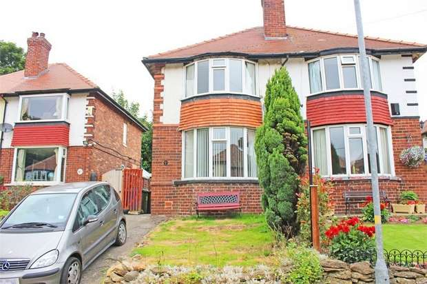2 Bedrooms Semi Detached House for sale in Hillside Gardens, Scarborough, North Yorkshire