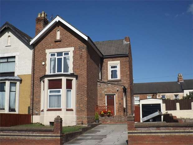 4 Bedrooms Semi Detached House for sale in New Chester Road, Birkenhead, Merseyside