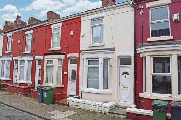 2 Bedrooms Terraced House for sale in Yelverton Road, Birkenhead, Merseyside