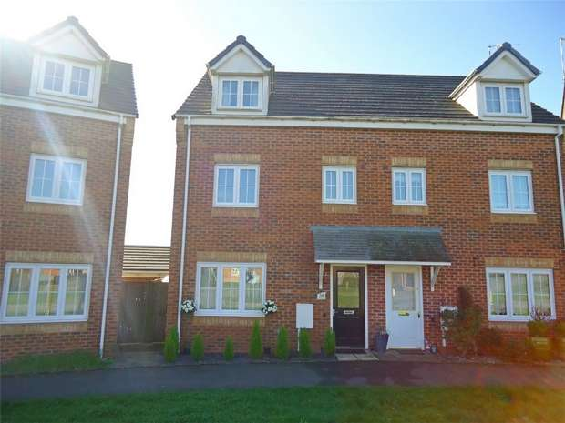 4 Bedrooms Semi Detached House for sale in Wisteria Way, Bermuda Park, Nuneaton, Warwickshire