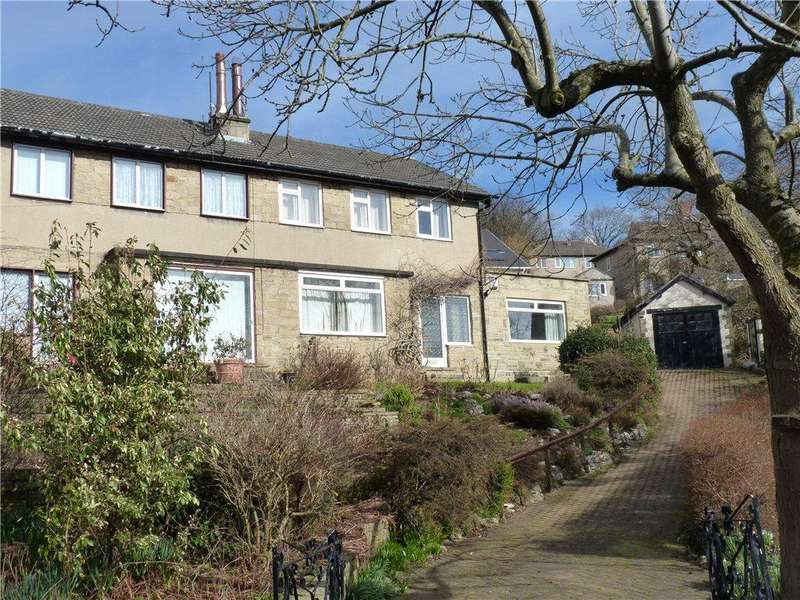 3 Bedrooms Semi Detached House for sale in Carr Lane, Riddlesden, Keighley, West Yorkshire