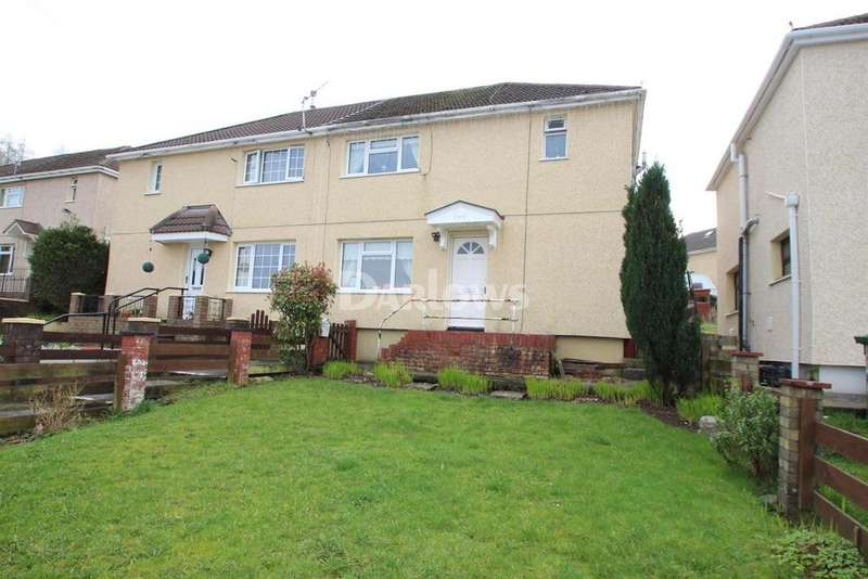 3 Bedrooms Semi Detached House for sale in Gardner Close, Glyncoch