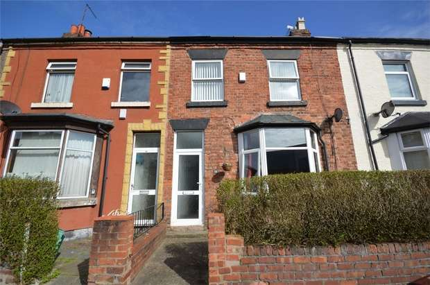 3 Bedrooms Terraced House for sale in Marquis Street, New Ferry