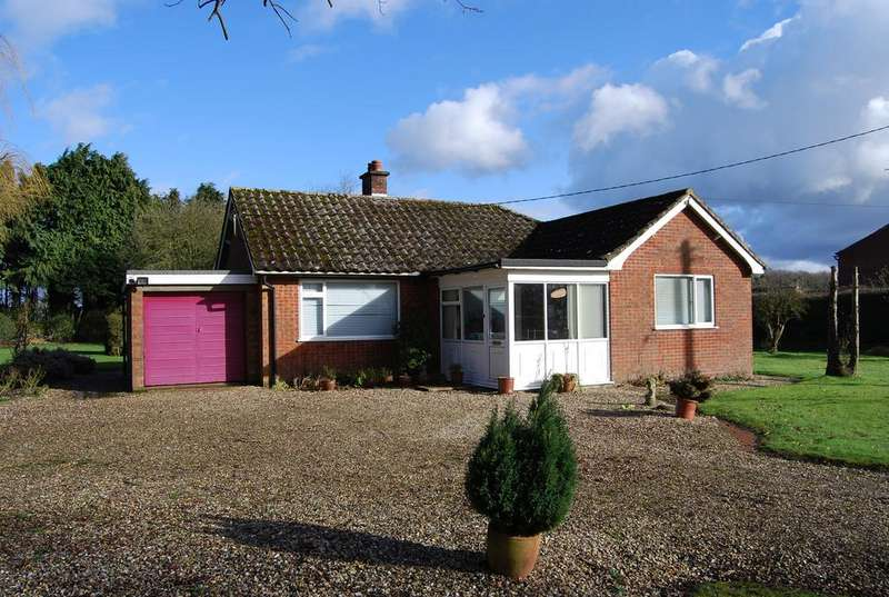 2 Bedrooms Detached Bungalow for sale in Spicers Corner, Little Fransham NR19
