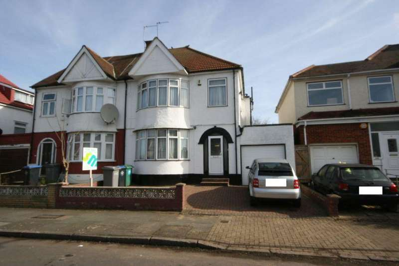 4 Bedrooms Semi Detached House for sale in Elmstead Avenue, Preston Road Area HA9