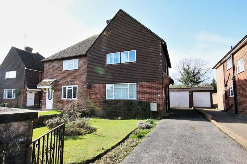 3 Bedrooms Semi Detached House for sale in Lansdowne Drive, Hailsham BN27