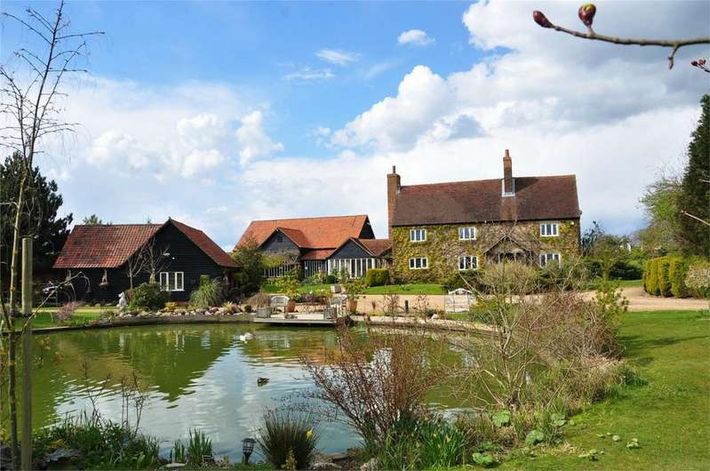5 Bedrooms Detached House for sale in Hardings Farm, High Wych, Sawbridgeworth