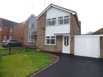 3 Bedrooms Semi Detached House for sale in Malvern Crescent, Ashby de La Zouch, Leicestershire