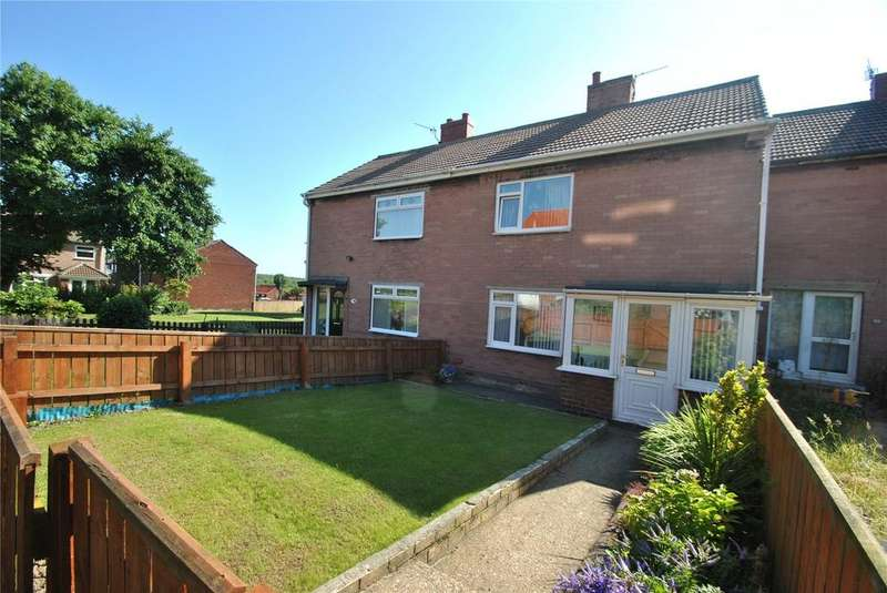 2 Bedrooms Semi Detached House for sale in St Ives Place, Murton, Co Durham, SR7