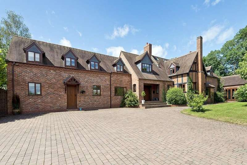 6 Bedrooms Detached House for sale in Hanbury Road, Hanbury