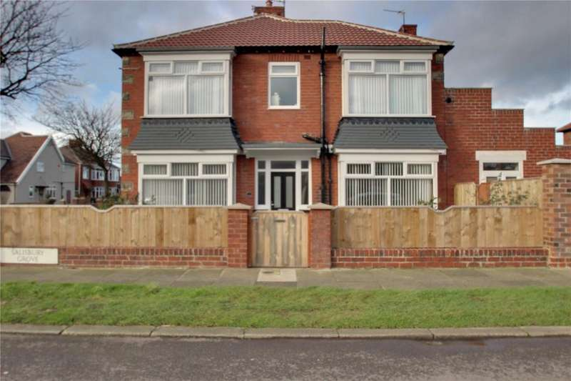 3 Bedrooms Semi Detached House for sale in Salisbury Grove, Redcar