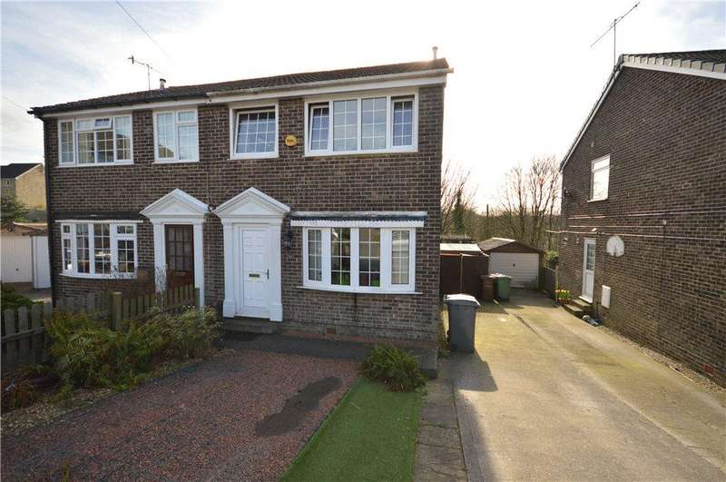 3 Bedrooms Semi Detached House for sale in South View Crescent, Yeadon, Leeds, West Yorkshire