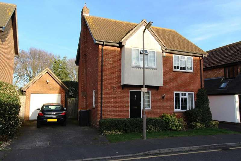 4 Bedrooms Detached House for sale in Petresfield Way, West Horndon, Brentwood, Essex, CM13