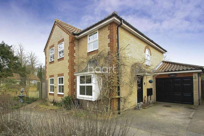 4 Bedrooms Detached House for sale in Woodlark Close, Thetford