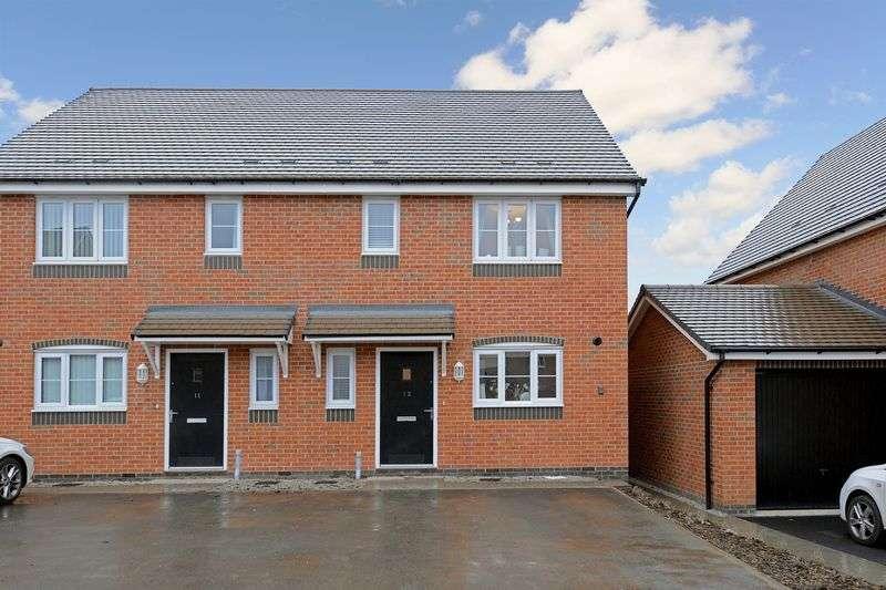 3 Bedrooms Semi Detached House for sale in Coalport Road, Broseley, Shropshire.