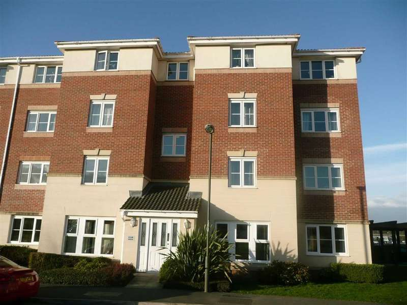 2 Bedrooms Apartment Flat for sale in Epsom House, Forge Drive, Chesterfield, S40