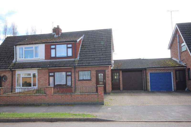 3 Bedrooms Semi Detached House for sale in Byron Crescent, Measham