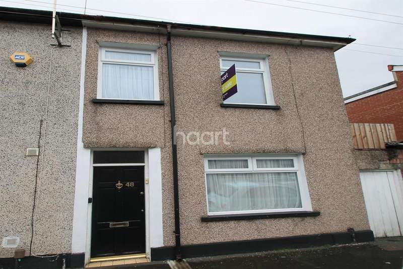 2 Bedrooms End Of Terrace House for sale in Dean Street, Newport
