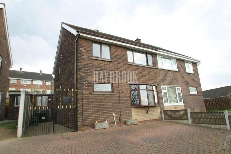 3 Bedrooms Semi Detached House for sale in Hawksworth Road, East Herringthorpe