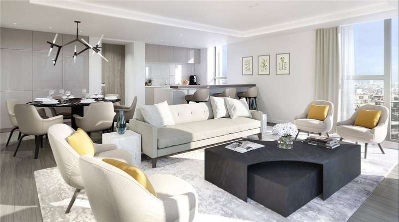2 Bedrooms Penthouse Flat for sale in Drummond House, Paddington Gardens, Paddington, W2