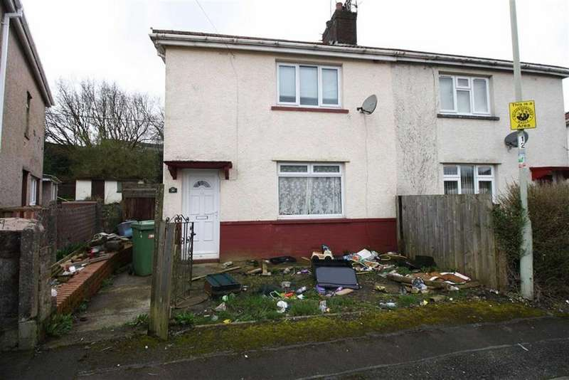 3 Bedrooms Semi Detached House for sale in Trenant, Hirwaun, Aberdare, Mid Glamorgan