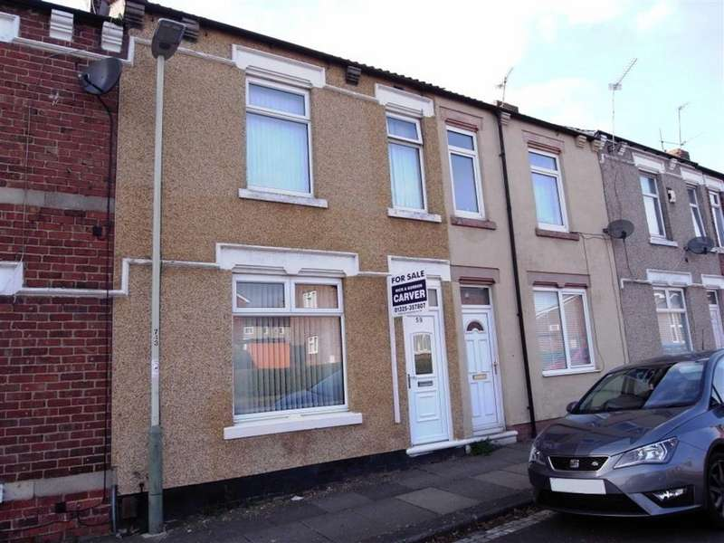 2 Bedrooms Terraced House for sale in Hercules Street, Darlington