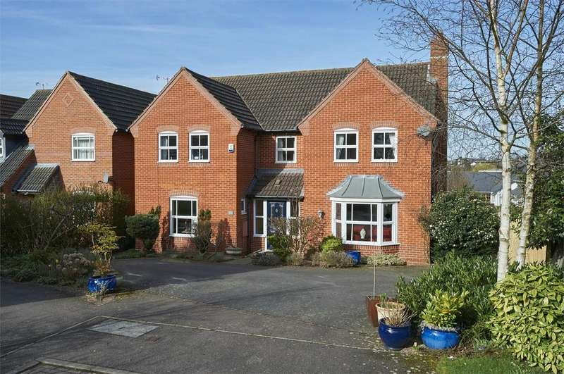 4 Bedrooms Detached House for sale in Fernfield Close, Market Harborough, Leicestershire