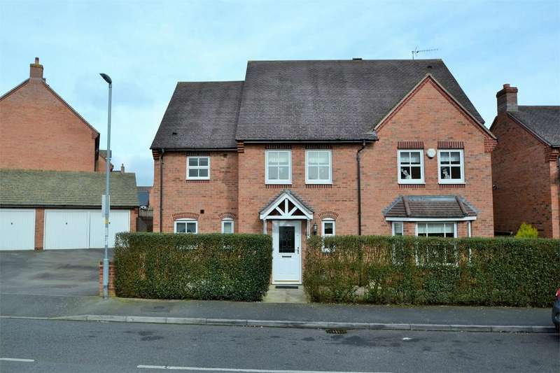 4 Bedrooms Detached House for sale in Speedwell Road, Desborough, Kettering, Northamptonshire