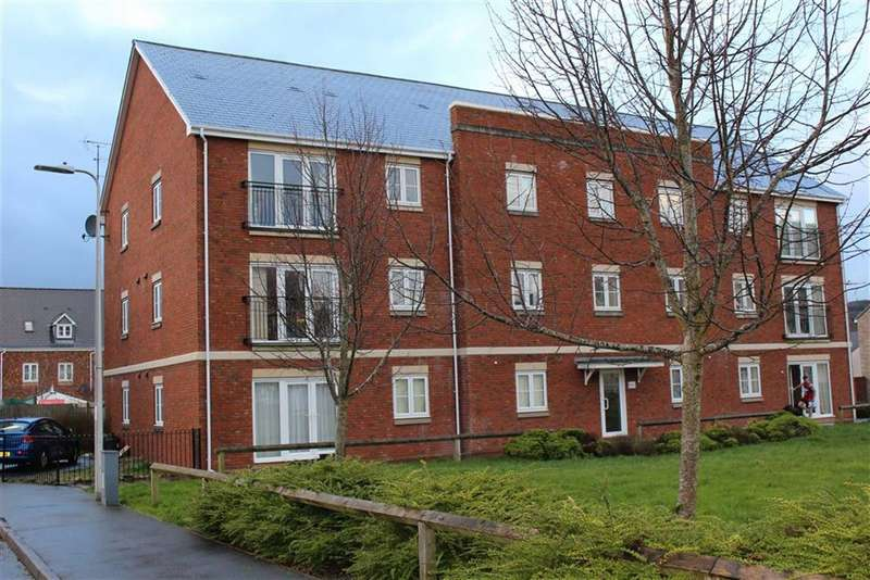 2 Bedrooms Flat for sale in Clayton Drive, Pontarddulais, Swansea