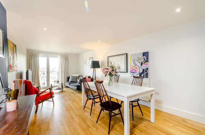 2 Bedrooms Flat for sale in Dragmore Street, Clapham Park, SW4