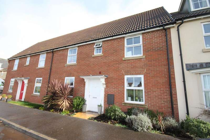 3 Bedrooms Terraced House for sale in Cullompton EX15