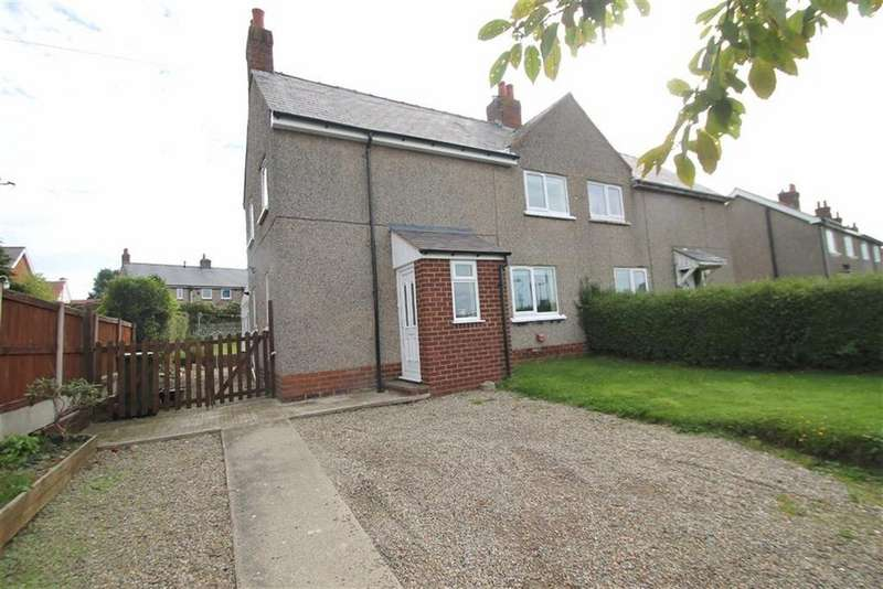 3 Bedrooms Semi Detached House for sale in Long Lane, Brynteg, Wrexham