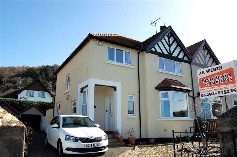 4 Bedrooms Semi Detached House for sale in Meadow Gardens, Craig Y Don, Llandudno, Conwy