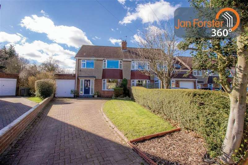 3 Bedrooms Semi Detached House for sale in The Oval, Newcastle Upon Tyne, NE13