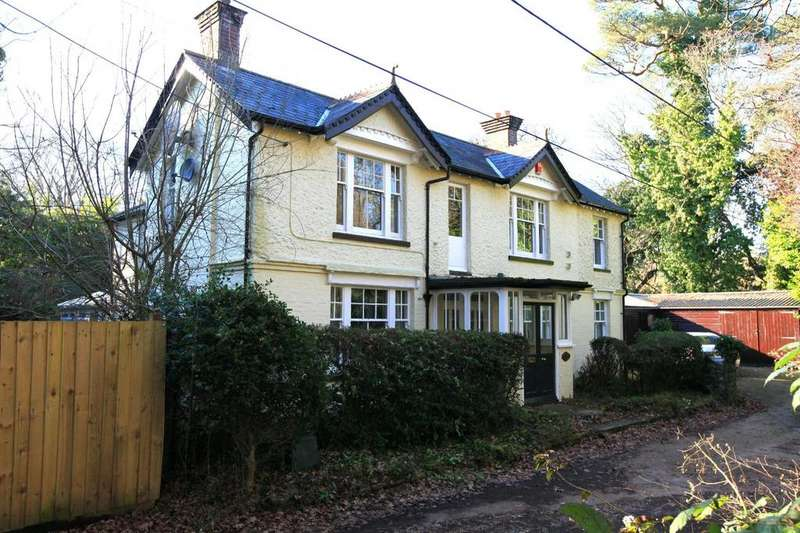 4 Bedrooms Detached House for sale in Folly Farm Lane, Ringwood, Hampshire, BH24