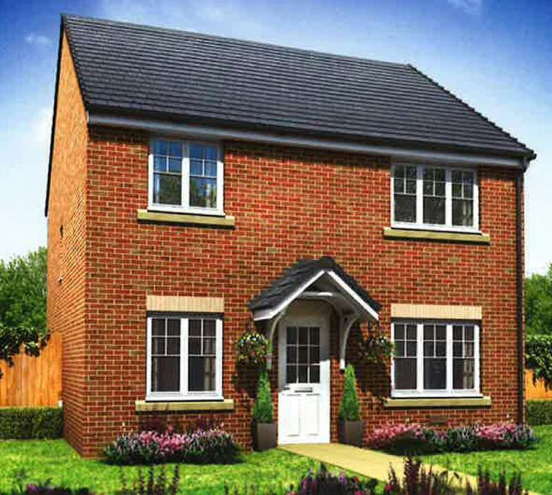 4 Bedrooms Detached House for sale in St Dunstans Place, Off High Street, Burbage, Wiltshire, SN8
