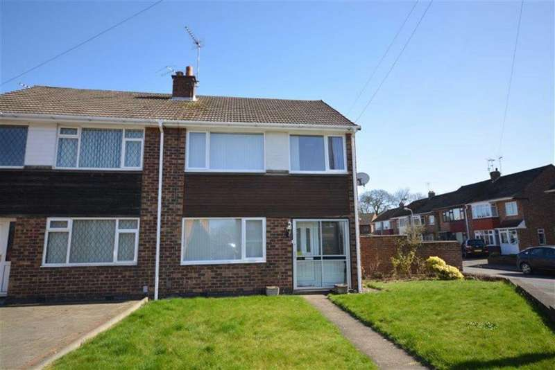 3 Bedrooms Semi Detached House for sale in Gibson Crescent, Bedworth
