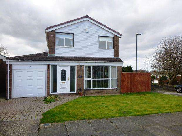 3 Bedrooms Detached House for sale in MELVAIG CLOSE, MOORSIDE, SUNDERLAND NORTH