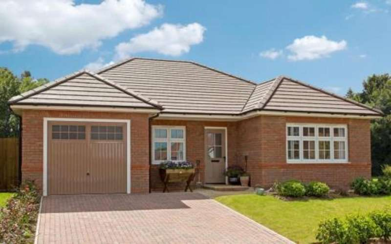 2 Bedrooms Detached Bungalow for sale in Stanbury Meadows