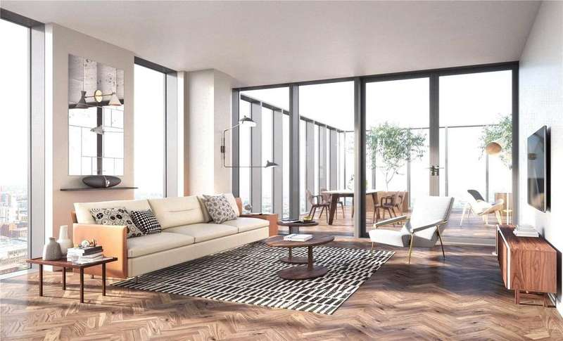 2 Bedrooms Flat for sale in St John's, St John's Place, Manchester, M3