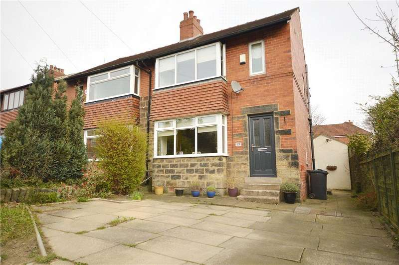 3 Bedrooms Semi Detached House for sale in Park Drive, Horsforth, Leeds, West Yorkshire